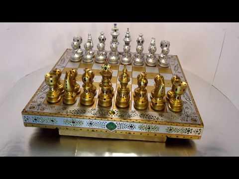 The Chess Set with Diamonds & Gemstones