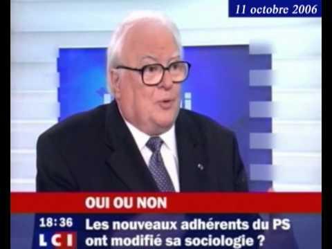 Pierre Mauroy : interview dans l'émission 'Oui-Non' sur LCI