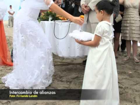 Una boda de ensueño en la playa