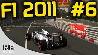 F1 2011 Career Mode Part 6 - Monaco (Gameplay PC)