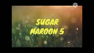 lirik lagu Sugar|Maroon 5