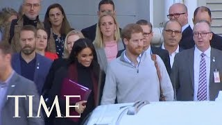 Prince Harry And Meghan Markle Arrive In Australia To Start 16-Day Pacific Tour | TIME