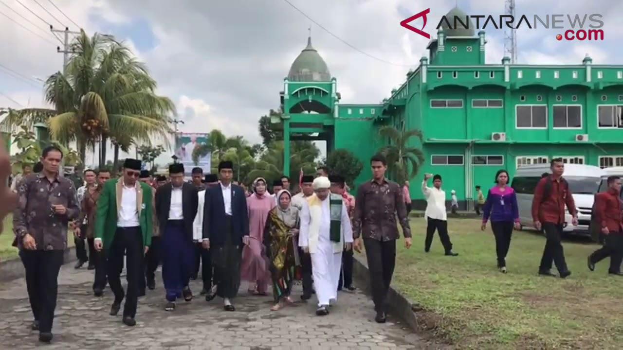 Download ANTARANEWS - Presiden ke Lombok sambangi sejumlah ulama