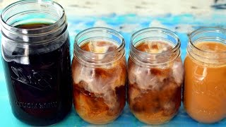 Vegan Cold Brew Coffee Meal Prep (DIY Starbucks)