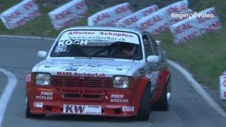 Special Season Highlights 2012 Opel Kadett C 2.5 16V Josef Koch, Awesome Loud Sound, Hillclimb