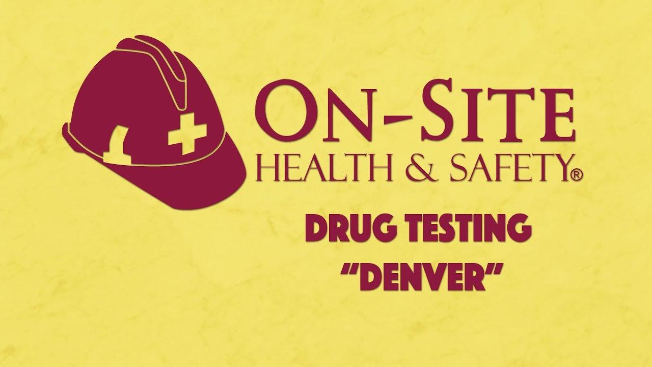 Drug Testing Denver (866) 998-2750