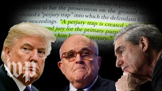 The perjury trap argument, deconstructed