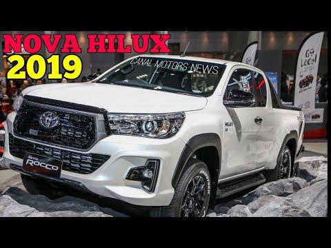Nova Toyota Hilux 2019 Reestilizada Youtube
