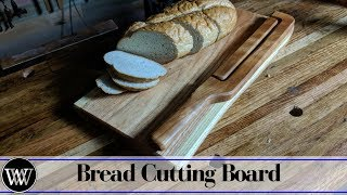 How to Make a Bread Board and Bread Knife Combo