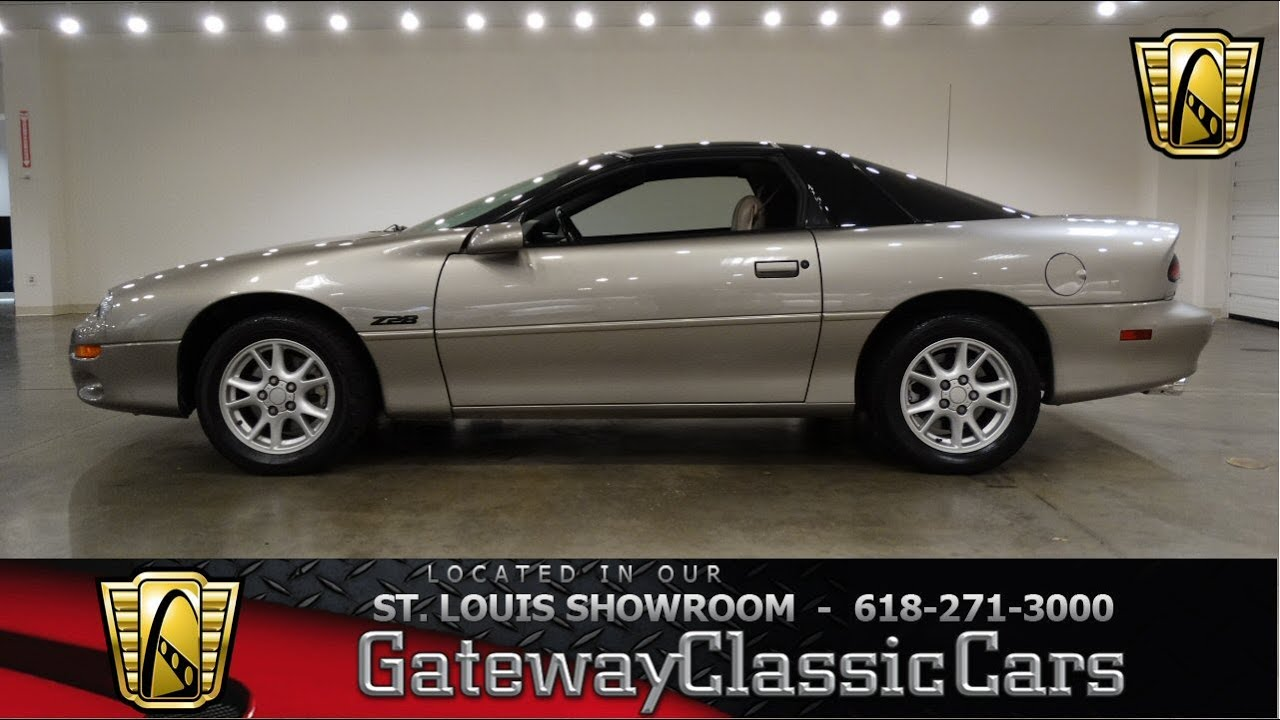 2000 Camaro Z28 for sale at Gateway Classic Cars STL - YouTube