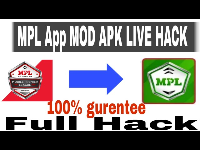 MPL App MOD APK || LIVE H@CK Proof || Free Loot offer || Link Not working
