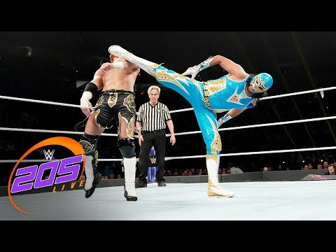 Gran Metalik vs. Buddy Murphy: WWE 205 Live, Dec. 12, 2018