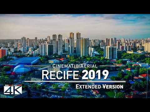 【4K】Drone Relax Travel Video | RECIFE ..:: Capital of Pernambuco 2019