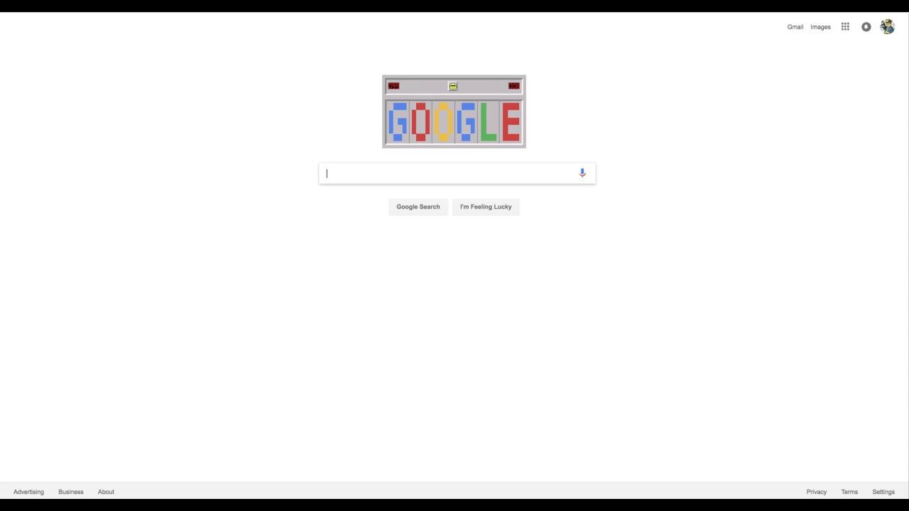 Google mine sweeper doodle