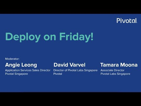 Singapore - Deploy - David Varvel & Tamara Moona