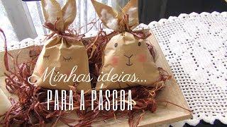 DIY: Bolsinha de Papel Craft Coelhinho de Páscoa