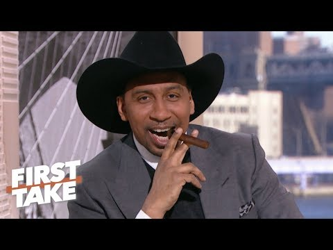 Stephen A. breaks out a cigar to celebrate the Cowboys' playoff loss | First Take
