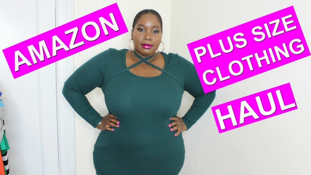 d99f75236a8 AMAZON PLUS SIZE HAUL   Try On - YouTube