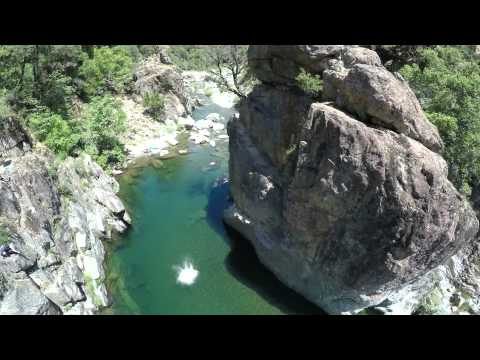 California Cliff Jumping: Cable Pools 5-24-15