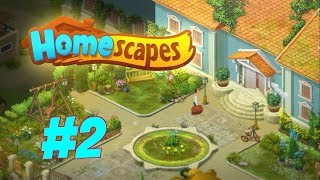 HOMESCAPES Gameplay Story Walkthrough Video | Hall Area Day 2, 3 and 4