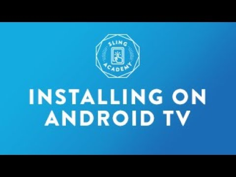 SLING TV: Install on Android TV  #Smartphone #Android
