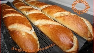 Recette De Baguette Maison/homemade French Baguette Recipe