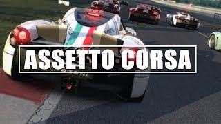 ASSETTO CORSA PC - GAMEPLAY ONLINE - LIVE