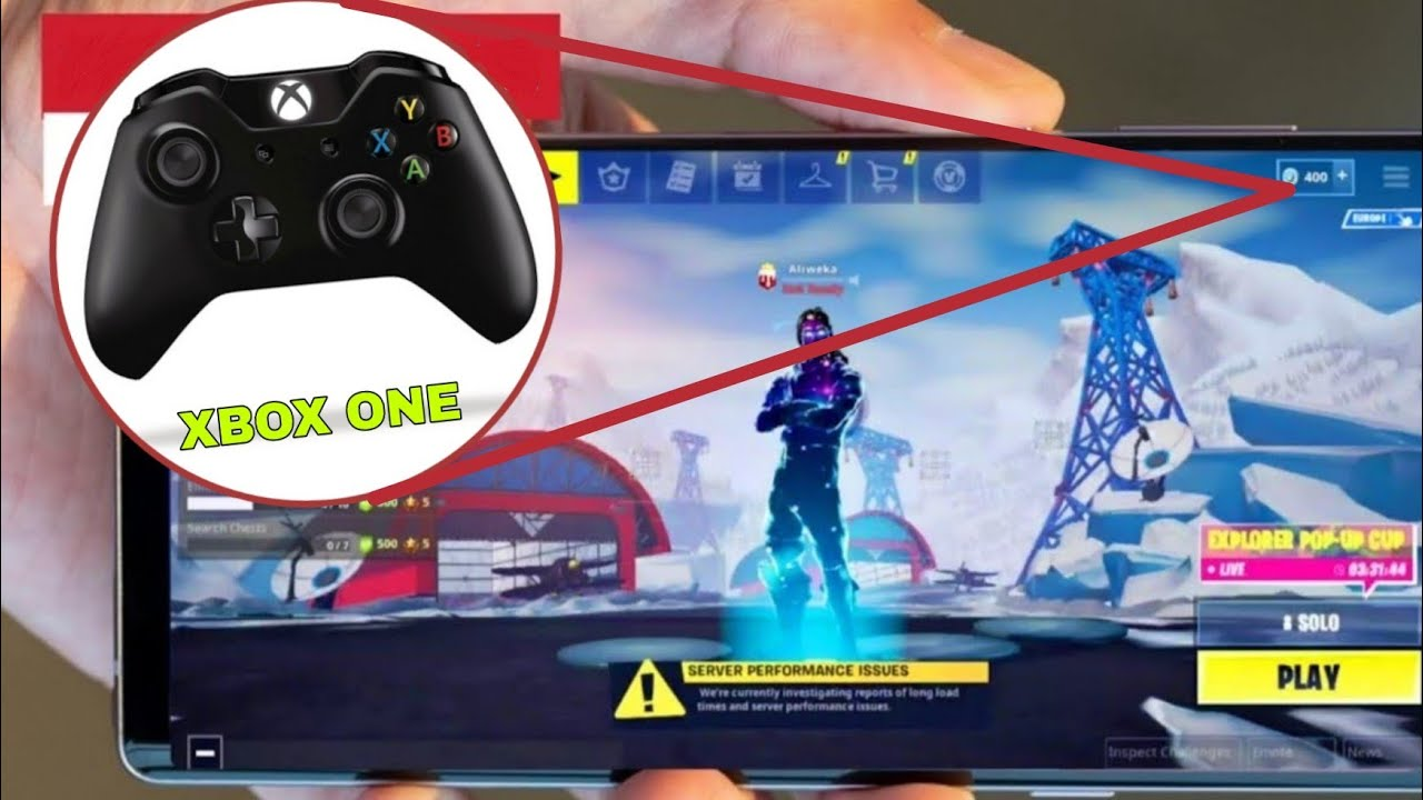 how to play fortnite with a xbox 360 controller