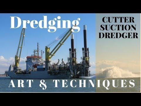 Under Water Excavation - Dredging Works - Cutter Suction Dredger -HUTA