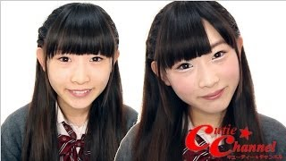 Natural make-up of high school students キューティーチャンネル http...