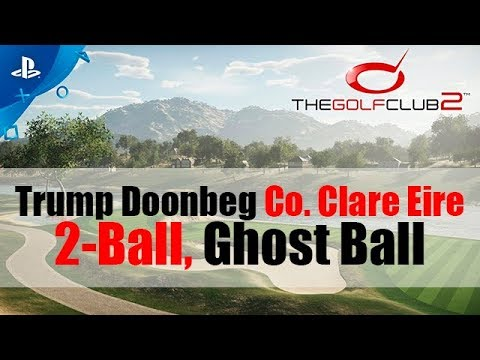The Golf Club 2 - Trump Doonbeg Co. Clare Eire - Two-ball