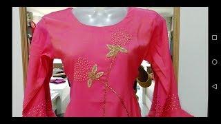 designer silk kurti I rayon kurti I 2tone kurti I trendy kurti I exclusive discounted rate I latest