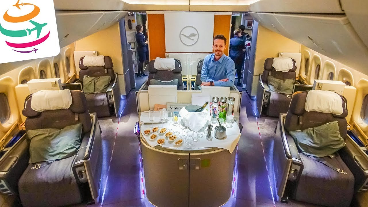 5 Sterne Lufthansa First Class 747 8 First Class Terminal Yourtravel Tv Youtube