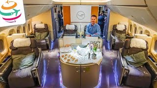 5-Sterne Lufthansa First Class 747-8 & First Class Terminal | YourTravel.TV