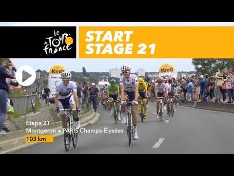 Start - Stage 21 - Tour de France 2017
