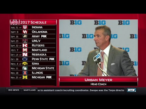 Ohio State's Urban Meyer - 2017 Big Ten Football Media Day