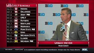 Ohio State's Urban Meyer - 2017 Big Ten Football Media Day