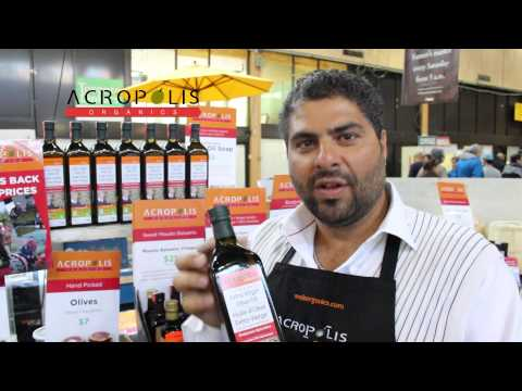 Acropolis Organics Founder introduces the BEST Greek Extra Virgin Olive Oil in the world