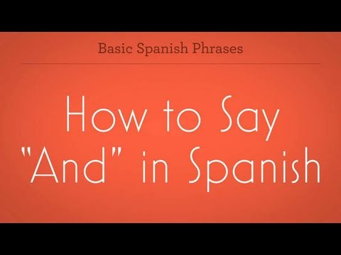 spansh girl how to say