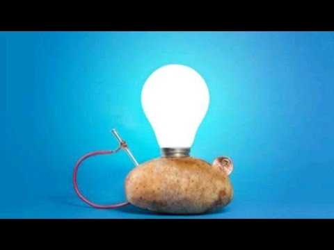 How we get electricity from potato