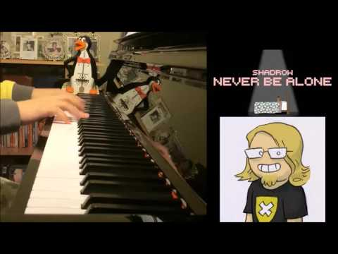 Five Nights At Freddy's 4 Song - Never Be Alone - Shadrow (Piano Cover by Amosdoll)