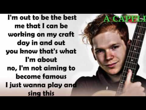 A CAPELLA by Chase Goehring  on americans got talent lyric song ( fast version)