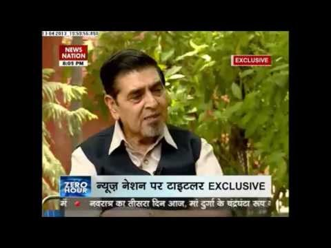 Zero Hour: News Nation Exclusive interview with Jagdish Tytler (April 13, 2013)