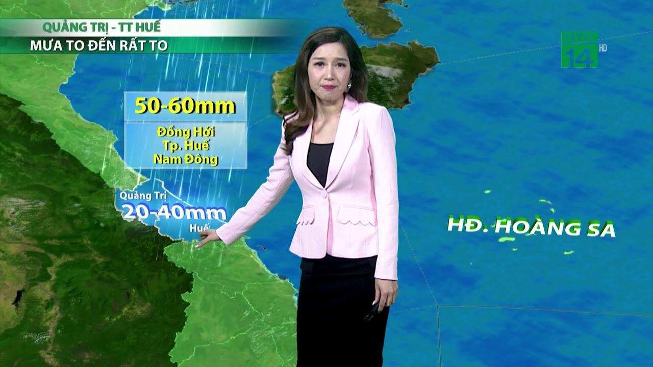 Thời tiết 6h 12/10/2018: Mưa to đến rất to từ Quảng Bình đến Thừa Thiên Huế | VTC14 | Thông tin thời tiết hôm nay và ngày mai