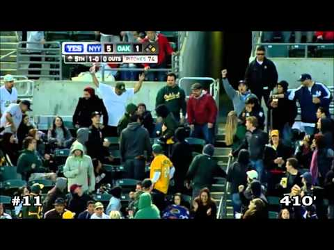 Robinson Canó 2011 Home Runs (HD)