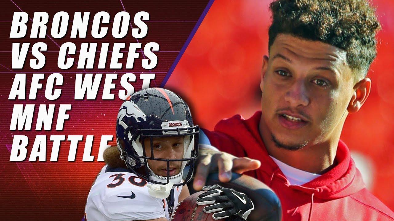 b07c88a32 Denver Broncos vs Kansas City Chiefs  Monday Night Football - YouTube