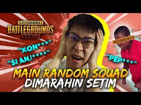 download JGN DITIRU! BELUM MAIN UDAH DIBACOTIN RANDOM SQUAD! - PUBG Mobile Indonesia
