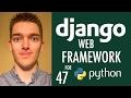 How to Save Data Input through Form Using a Django Model Form (Django Tutorial) | Part 47