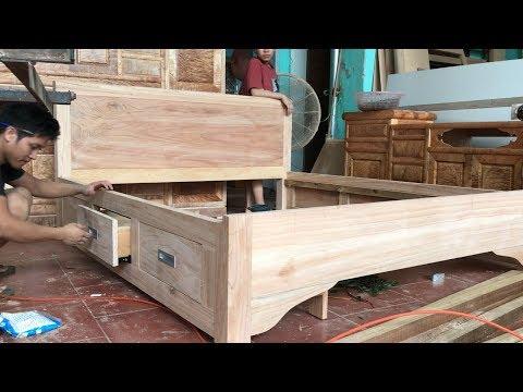 Making drawer beds (Làm giường ngăn kéo)