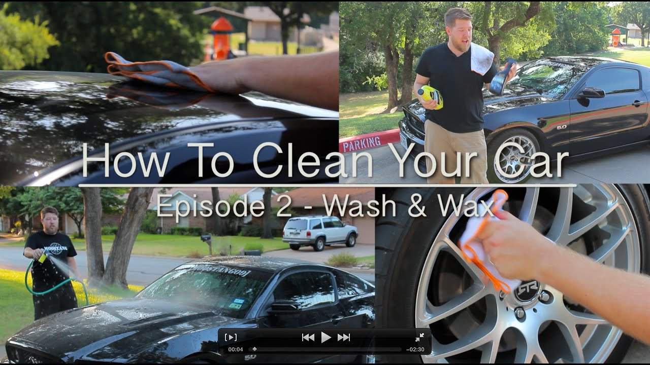 How to wash a car 48